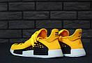 Чоловічі кросівки Adidas Human Race Yellow, фото 9