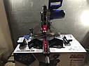 Торцювальна пила з протяжкою AL-FA ALMS-250-2S (2 диска), фото 5