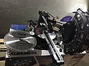 Торцювальна пила з протяжкою AL-FA ALMS-250-2S (2 диска), фото 6