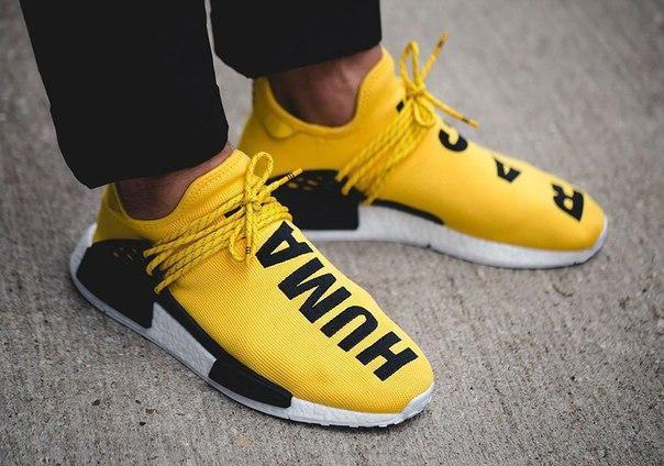 Чоловічі кросівки Adidas Human Race Yellow