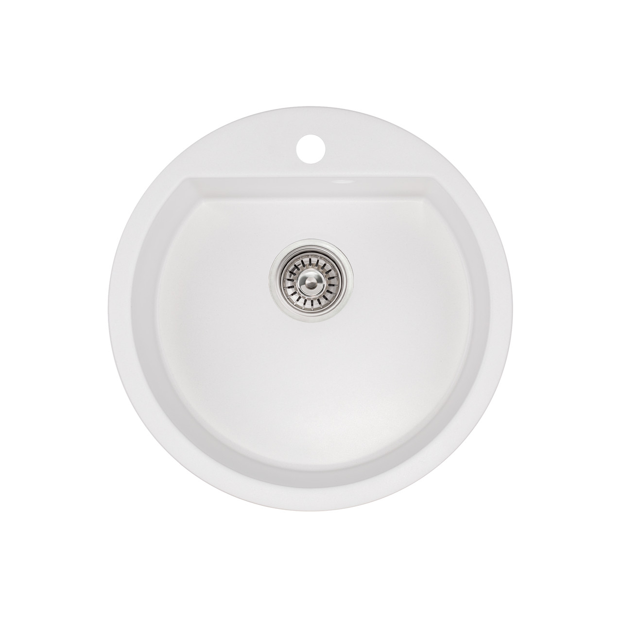 Кухонная мойка Qtap CS D510 WHI (QTD510WHI650)
