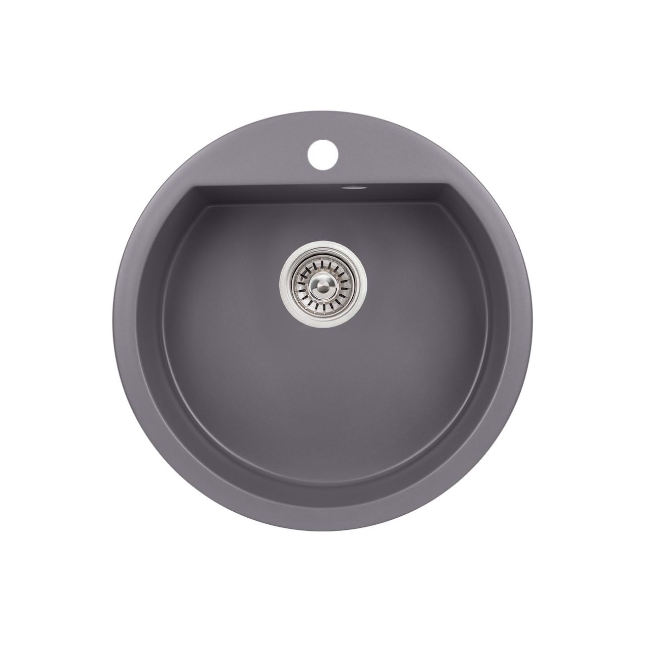 Кухонная мойка Qtap CS D510 GRE (QTD510GRE471)