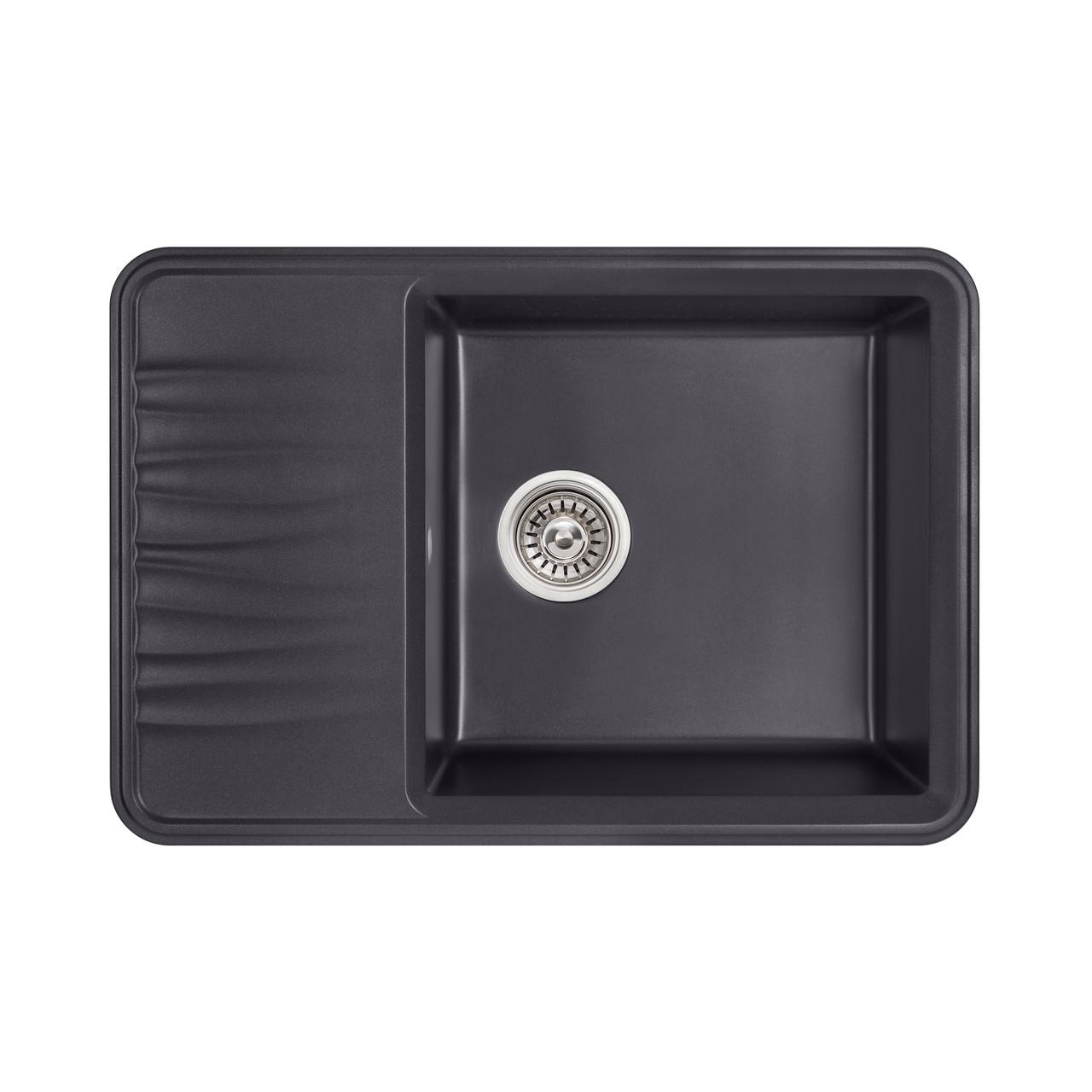 Кухонна мийка Qtap CS 7440 BET (QT7440BET502)