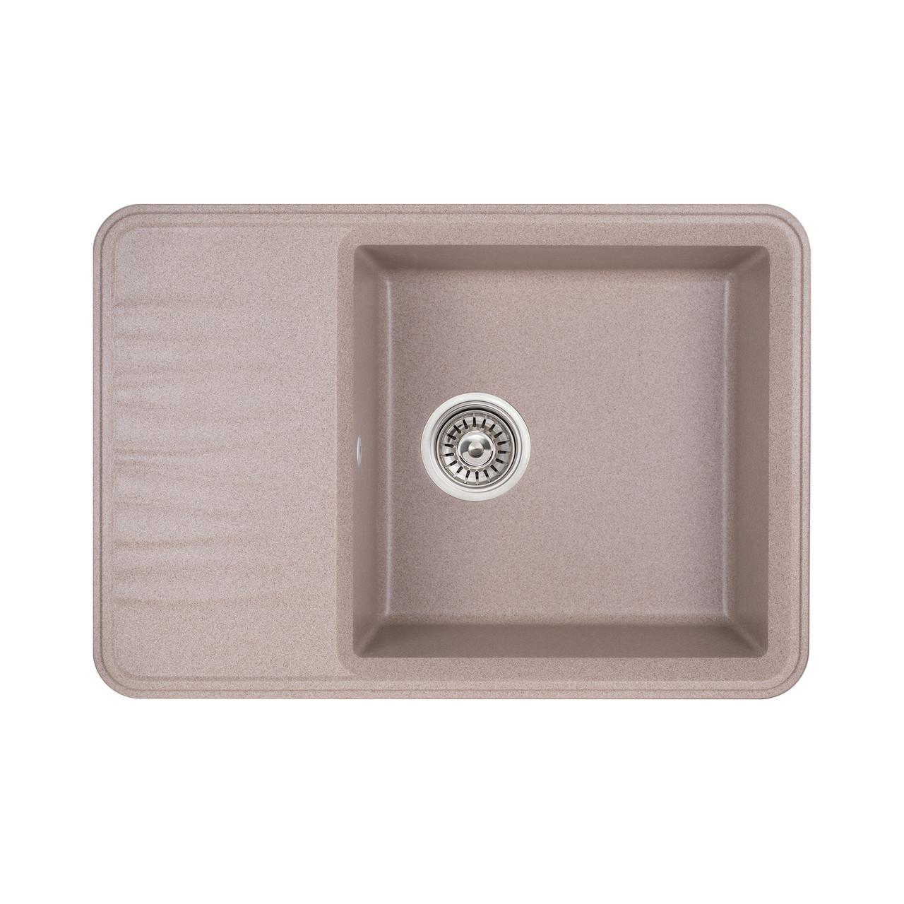 Кухонная мойка Qtap CS 7440 BEI (QT7440BEI551)