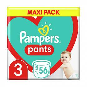 Підгузки-трусики Pampers памперс Pants 3 ( 56 шт / 6-11 кг)