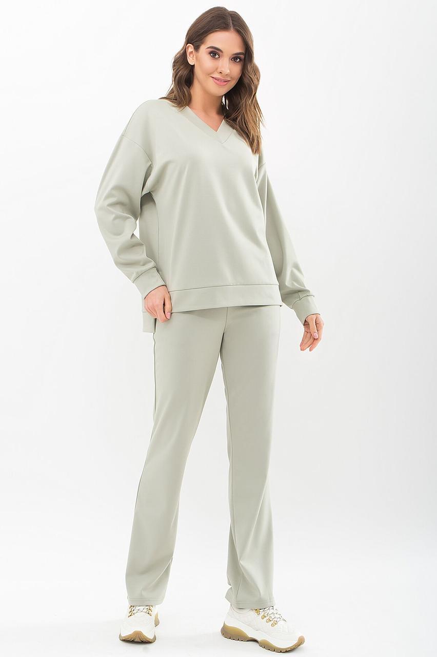 Модний споортивний костюм 2021 жіночий,  колір: сірий, розмір: S, M, L, XL