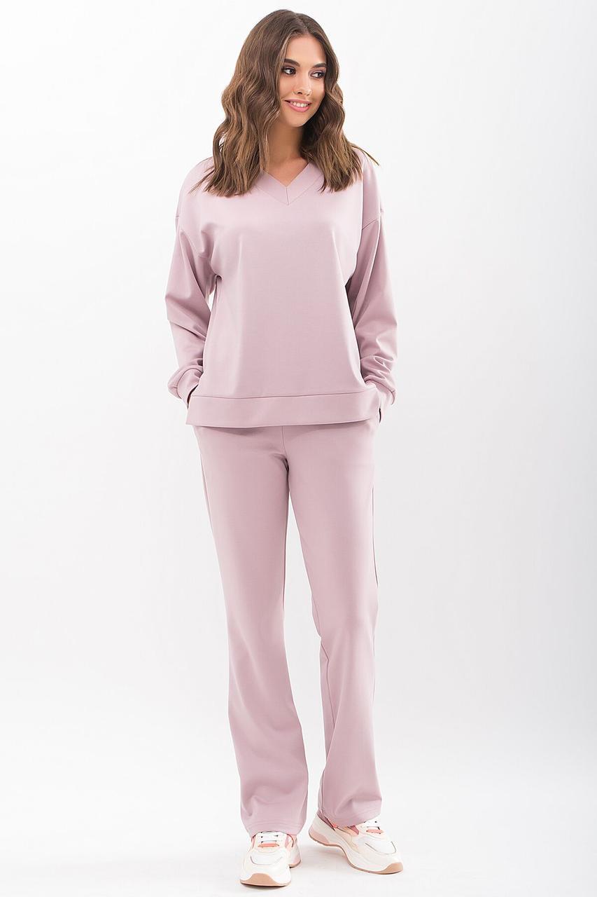 Модний споортивний костюм 2021 жіночий,  колір: св. ліловий, розмір: S, M, XL