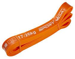 Еспандер-петля (гума для фітнесу і спорту) SportVida Power Band 28 мм 17-26 кг SV-HK0191
