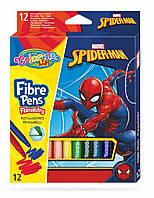 """Фломастеры цветные """"SPIDERMAN"""" , 12 цветов,  тм Colorino"""