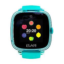 Детские смарт-часы Elari KidPhone Fresh Green с GPS-трекером (KP-F/Green) (353471111191959) - Б/У