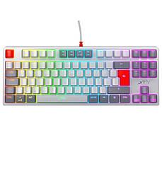 Клавиатура Xtrfy K4 TKL RGB Kailh Red Ukr-Ru, Retro (XG-K4-RGB-TKL-RETRO-RUKR)