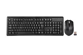 Комплект бездротової A4Tech 4200N (GR-92+G3-200N) Black USB