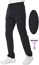 Летние спортивные штаны Shooter трикотажные прямые брюки темно-серые