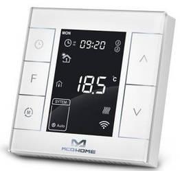 Умный термостат MCO Home для электрического теплого пола, Z-Wave, White (MH7H-EH-WHITE)