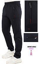 Летние спортивные штаны Shooter трикотажные прямые брюки темно-синие