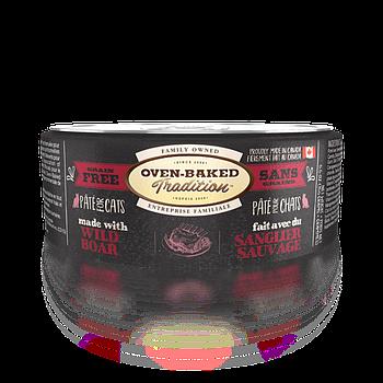 Консервированный корм для кошек OVEN-BAKED с мясом кабана, 156 г