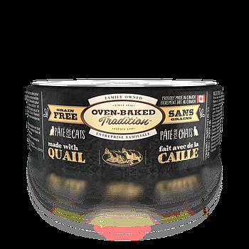 Консервированный корм для кошек OVEN-BAKED с перепелкой, 156 г