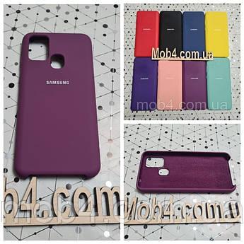 Брендовий чохол накладка Silicone Cover для Samsung Galaxy M31