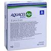 Аквасель Гидрофайбер (ConvaTec Aquacel Ag) повязка с серебром и усиленным волокном 5 * 5, 1шт.