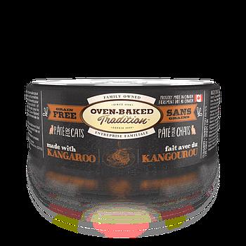 Консервированный корм для кошек OVEN-BAKED с мясом кенгуру, 156 г