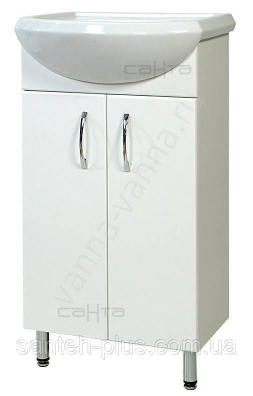 Тумба для ванной комнаты Т 1 Эконом с умывальником Аква-45