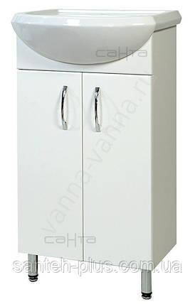 Тумба для ванной комнаты Т 1 Эконом с умывальником Аква-45 , фото 2