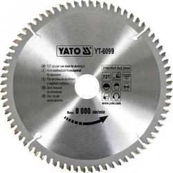 Диск пиляльний YATO по алюмінію 350х30х3.2x2.5 мм, 100 зубців (YT-6099)