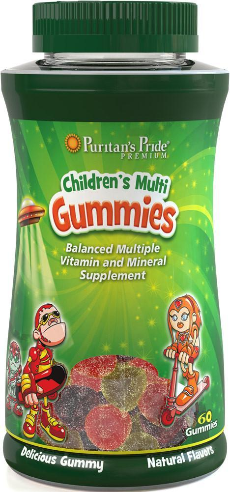 Puritan's Pride children's Multivitamins and Mineral Gummies (120 шт.)