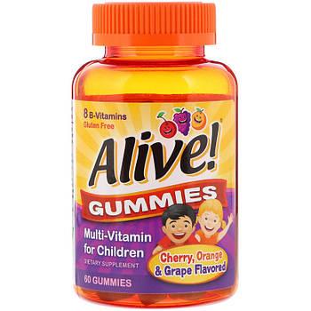 Nature's Way Alive! Gummies Multi-Vitamin for Children 60 Gummies