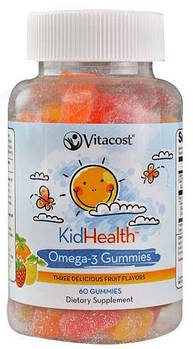 Vitacost Kids Health Omega-3 Gummies for Kids – 60 Gummies