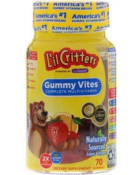 L'il Critters Gummy Vites Complete Multi-Vitamin, Детские витамины (70 шт.)