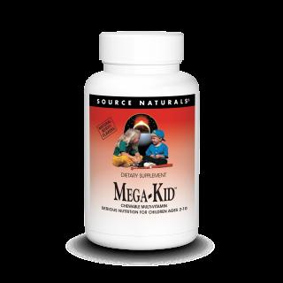 Source Naturals Mega-Kid Chewable Multi-Vitamin, Детские витамины (30 шт.)