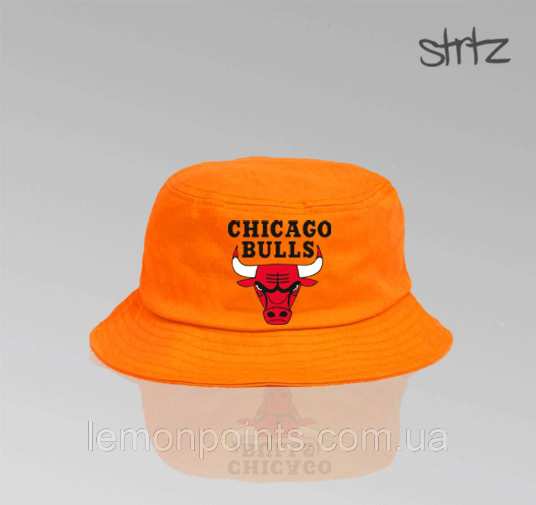 Панамка Chicago Bulls річна бавовняна помаранчева