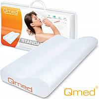 Ортопедическая профилированная подушка Standard Pillow QMED