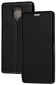 Чохол-книжка Оригінал Xiaomi Redmi Note 9S / Note 9 Pro (Чорний)