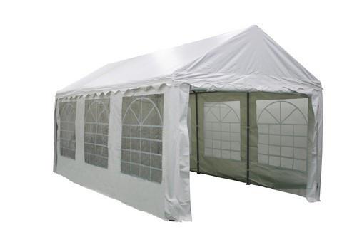 Тент павильон торговый складной 3x6 м. белый BST 590555