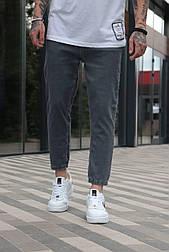Джинси - Чоловічі сірі джинси / чоловічі джинси сірі вільного крою