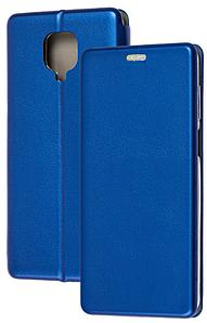 Чохол-книжка Оригінал Xiaomi Redmi Note 9S / Note 9 Pro (Синій)