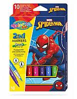 "Фломастеры цветные ""SPIDERMAN""   Bruch, 10 цветов,  тм Colorino"