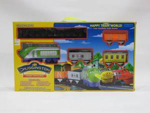 Детская железная дорога ZY 3022 Ghuggington, фото 2