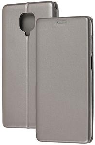 Чохол-книжка Оригінал Xiaomi Redmi Note 9S / Note 9 Pro (Сірий)