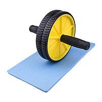 Тренажер ролик для пресса - спортивное колесо (GIPS), Тренажеры