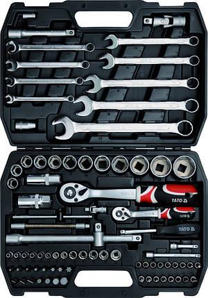 Набор инструментов YATO YT-1269, 82 элемента, фото 2