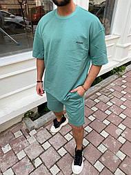 Спортивний костюм Чоловічий спортивний комплект / чоловічий комплект шорти+футболки