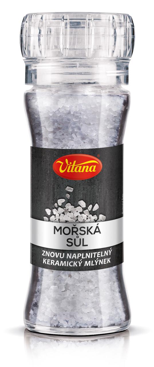 Vitana Спеції в млинку Морська сіль150г