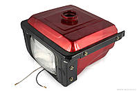 """Бак топливный на мотоблок с двигателем   195N   (12Hp)   """"DIGGER""""   (mod:B, с фарой)"""