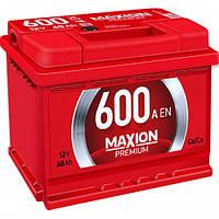 Акумулятори Maxion Premium 60Ah 600A R+