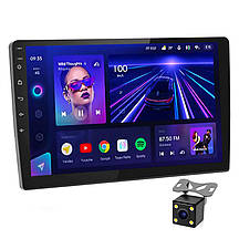 Автомагнитола 1DIN 8227 ANDROID 9.1 с экраном 10 дюймов 2/16гб USB BT GPS навигация Wi-fi магнитола магнитофон