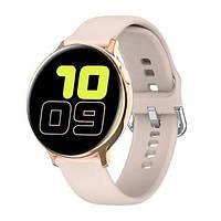 Наручные смарт часы Smart S2 (Gold Pink)   Фитнес трекер