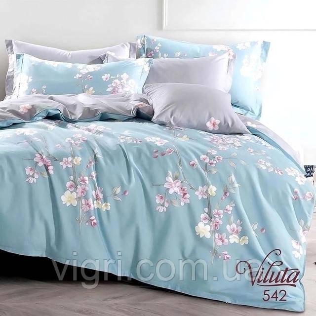 Постельное белье двуспальное, сатин, Вилюта «Viluta» VS 542